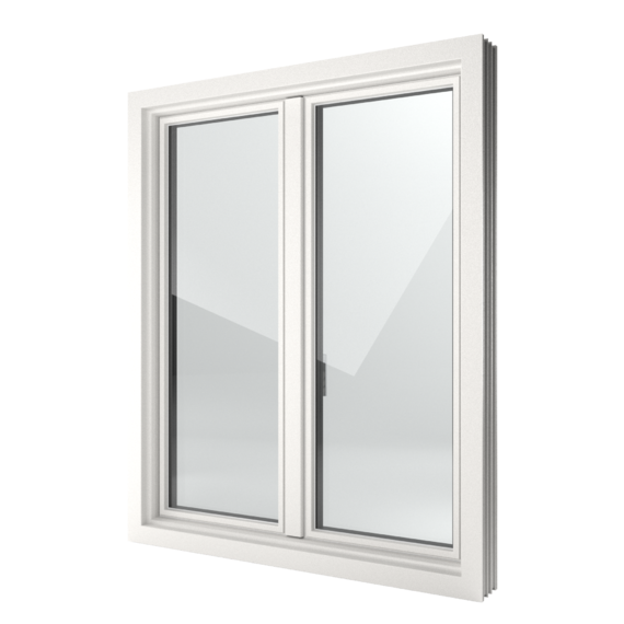 FIN-Window Slim-line 124