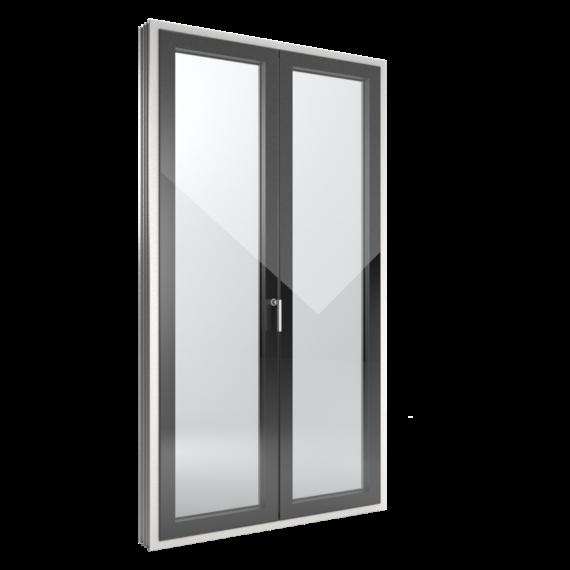 FIN-Window Slim-line Cristal 124