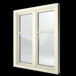 FIN-Window Step-line 124 Kunststoff-Kunststoff