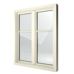 FIN-Window Step-line 124 PVC-PVC