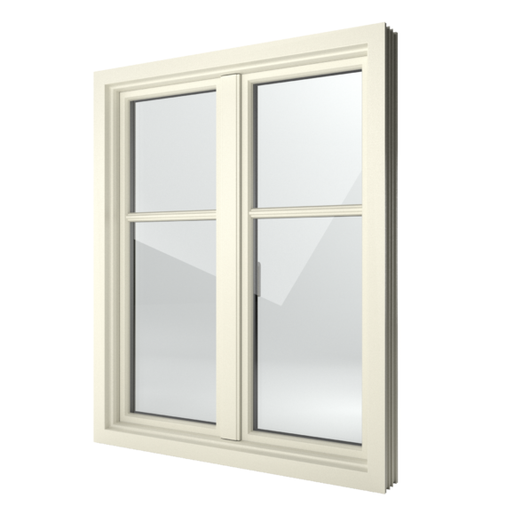 FIN-Window Step-line 124 PVC-PVC