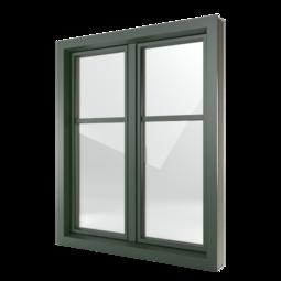 FIN-Window Classic-line 124+3 Alluminio-PVC