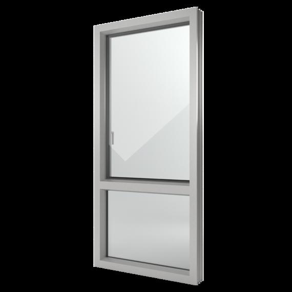 FIN-Window Nova-line 124+3 Alluminio-PVC