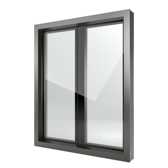 FIN-Window Nova-line Plus 124+3 Alluminio-PVC