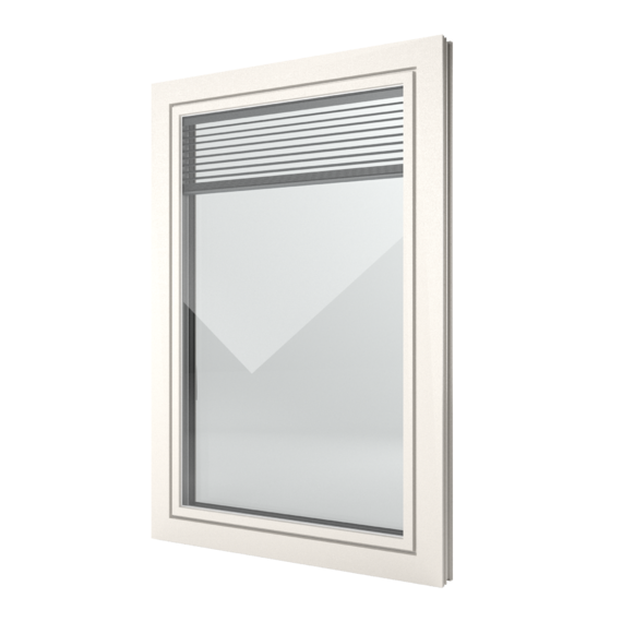 FIN-Window Slim-line Twin 77 Kunststoff-Kunststoff