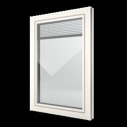 FIN-Window Slim-line Twin 77 PVC-PVC