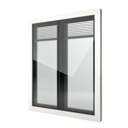 FIN-Window Nova-line Twin 77 PVC-PVC