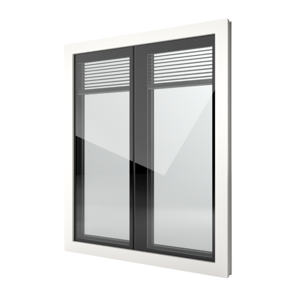 FIN-Window Nova-line Twin 77 PVC-PVC