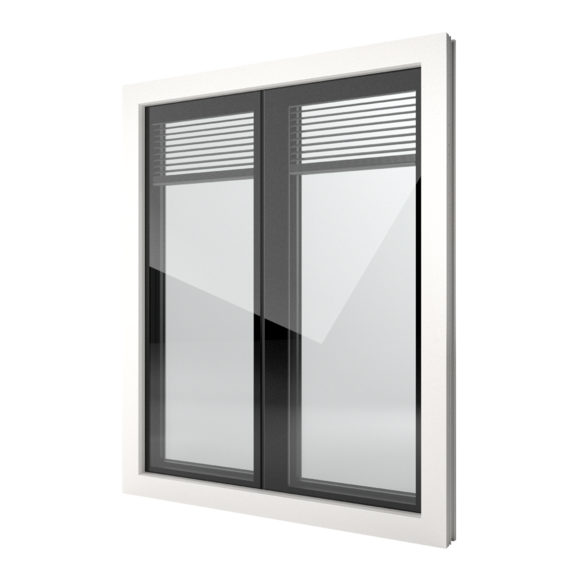 FIN-Window Nova-line Twin 90 PVC-PVC