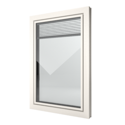 FIN-Window Slim-line Twin 90 PVC-PVC