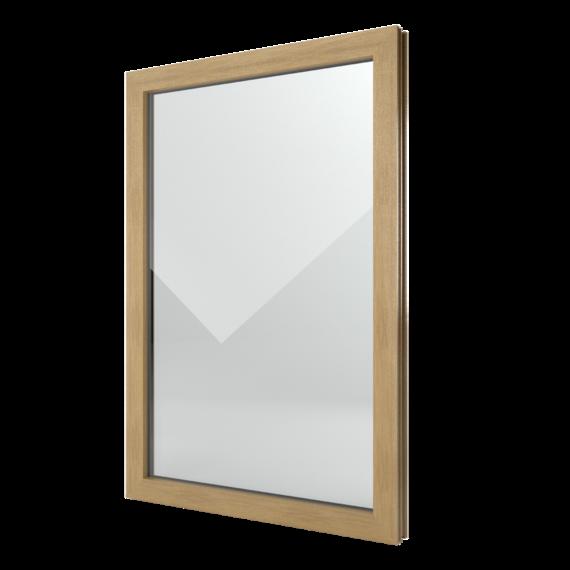 FIN-Window Festverglasung 77 Kunststoff-Kunststoff