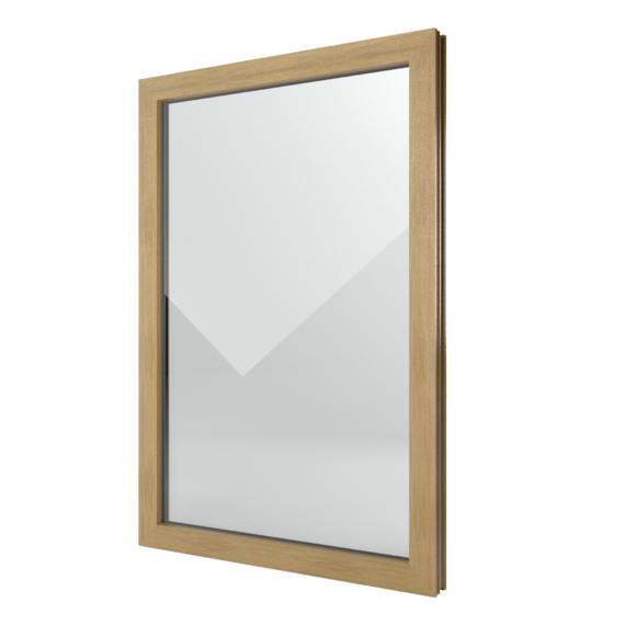 FIN-Window Elemento fijo 77 PVC-PVC