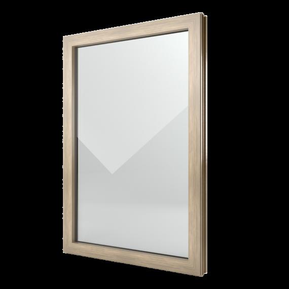 FIN-Window Festverglasung 77+8 Aluminium-Kunststoff