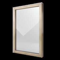 FIN-Window Elemento fijo 77+8 Aluminio-PVC