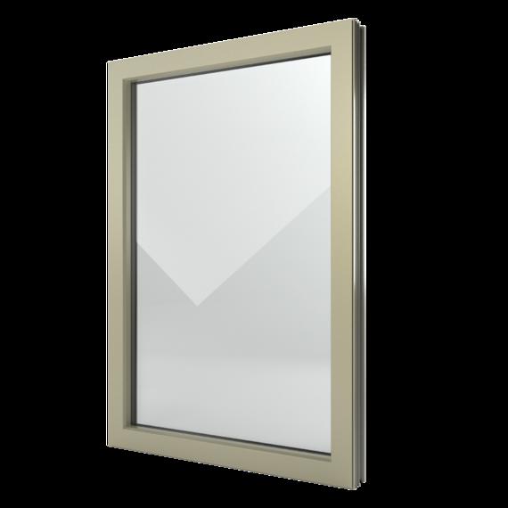 FIN-Window elemento fisso C 90+8 Alluminio-PVC