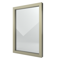 FIN-Window Châssis fixes C 90+8 Aluminium-PVC