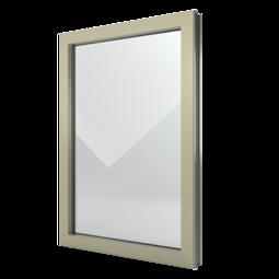 FIN-Window elemento fisso N 90+8 Alluminio-PVC
