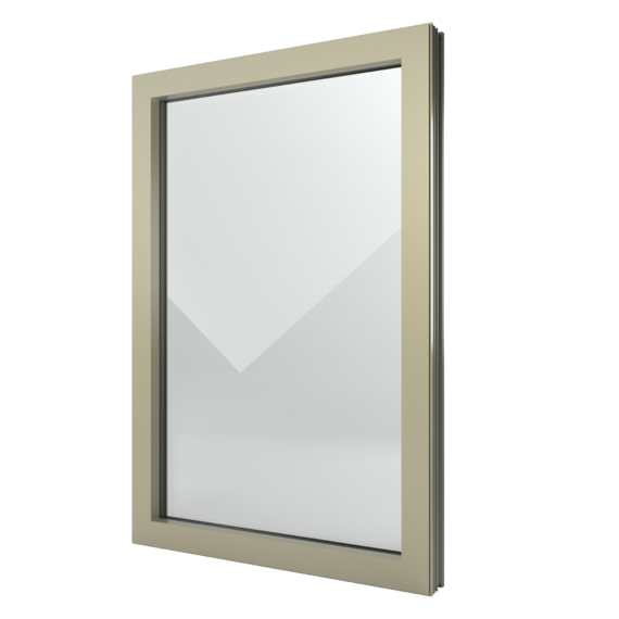 FIN-Window Vast raam N 90+8