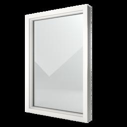 FIN-Window Festverglasung 124 Kunststoff-Kunststoff
