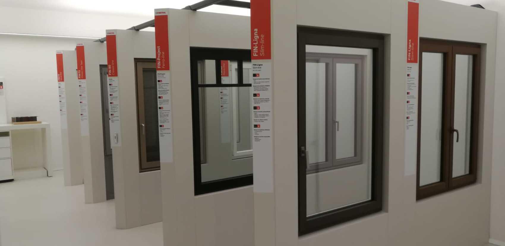 Diversi sistemi di serramenti tra cui scegliere, sviluppati secondo i più elevati standard di qualità.