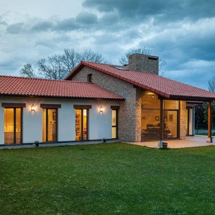 Maison passive en Espagne