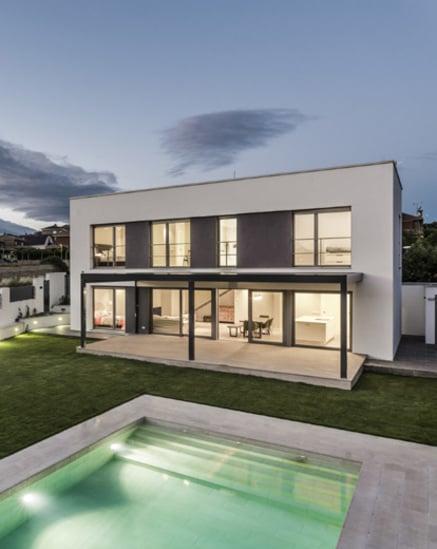 Casa passiva nei pressi di Madrid