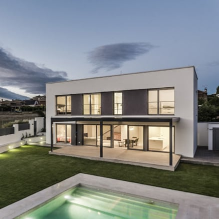 Passive house near Madrid