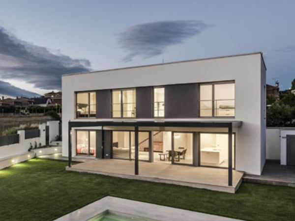 Maison passive à Madrid