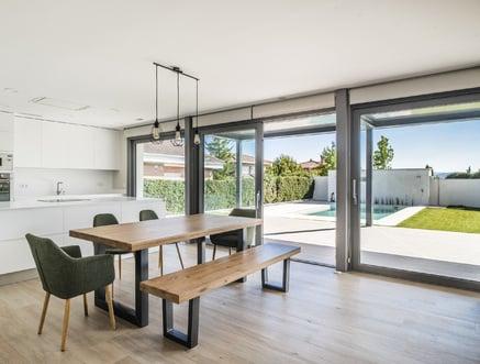 Passive house near Madrid