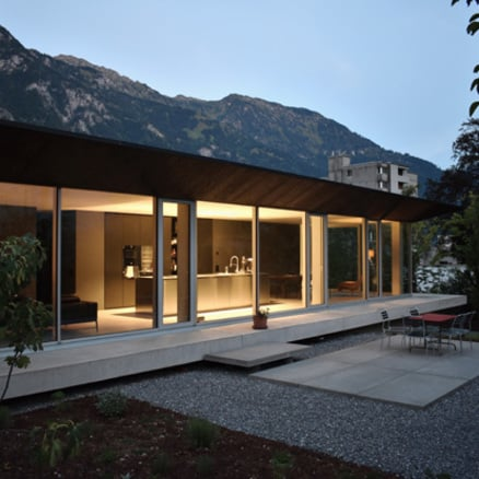 Haus in der Schweiz