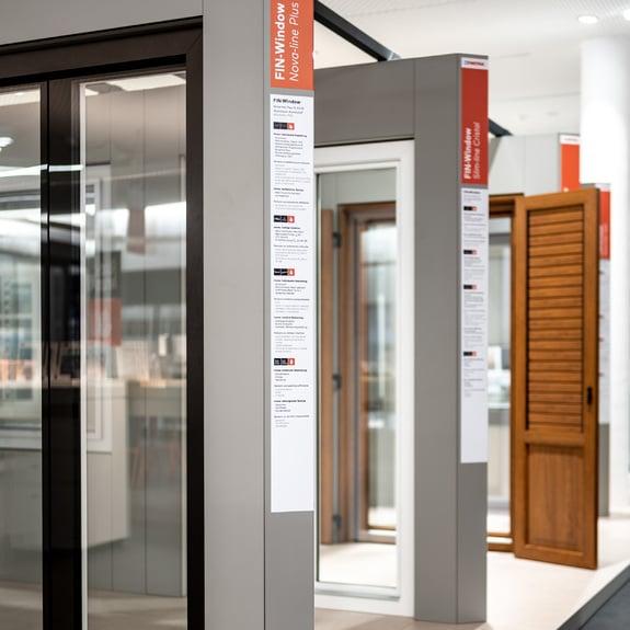 Graças aos produtos Finstral, {{placeholderCompany}} oferece a gama de janelas mais completa da Europa.