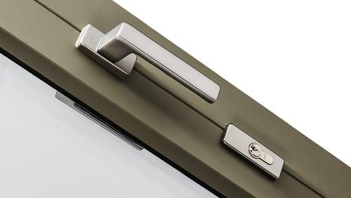 Puxadores para portas oscilobatentes