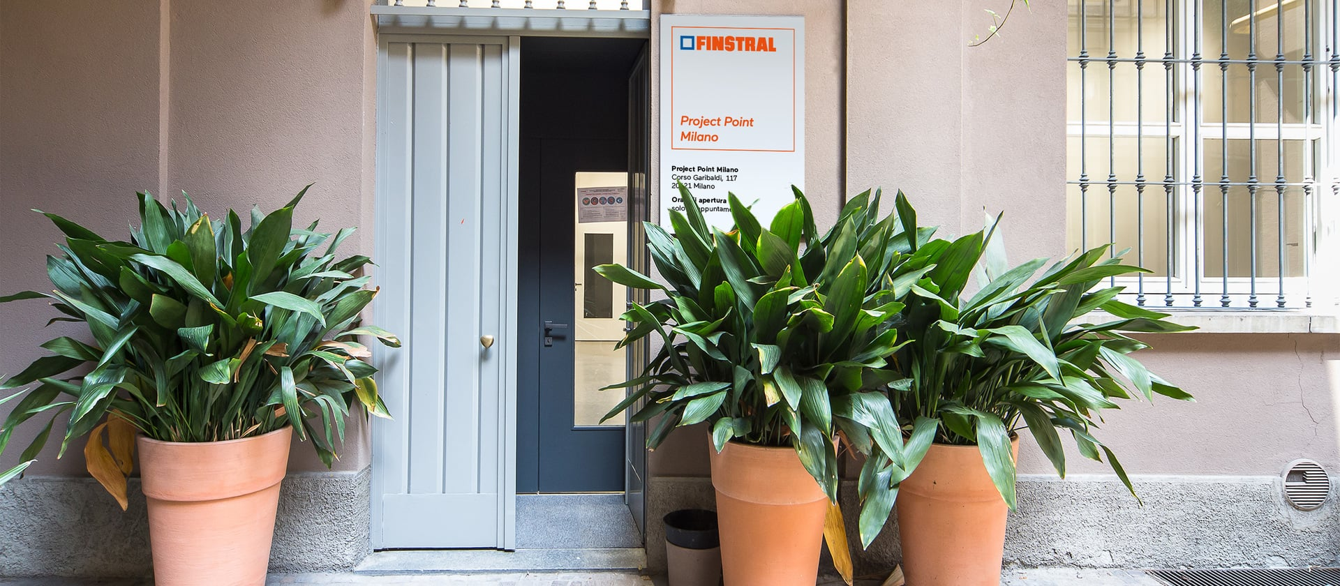 Finstral Project Point Milano