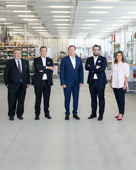 Neuer Verwaltungsrat: Finstral setzt auf Kontinuität.