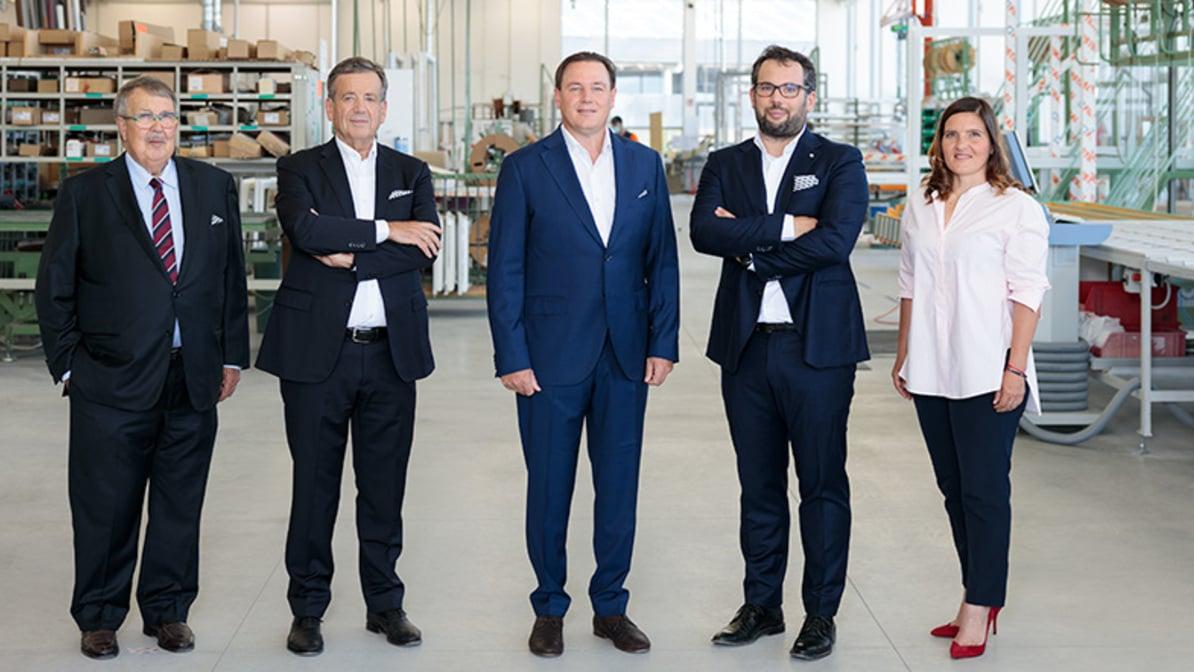 Nuevo Consejo de Administración: Finstral apuesta por la continuidad.