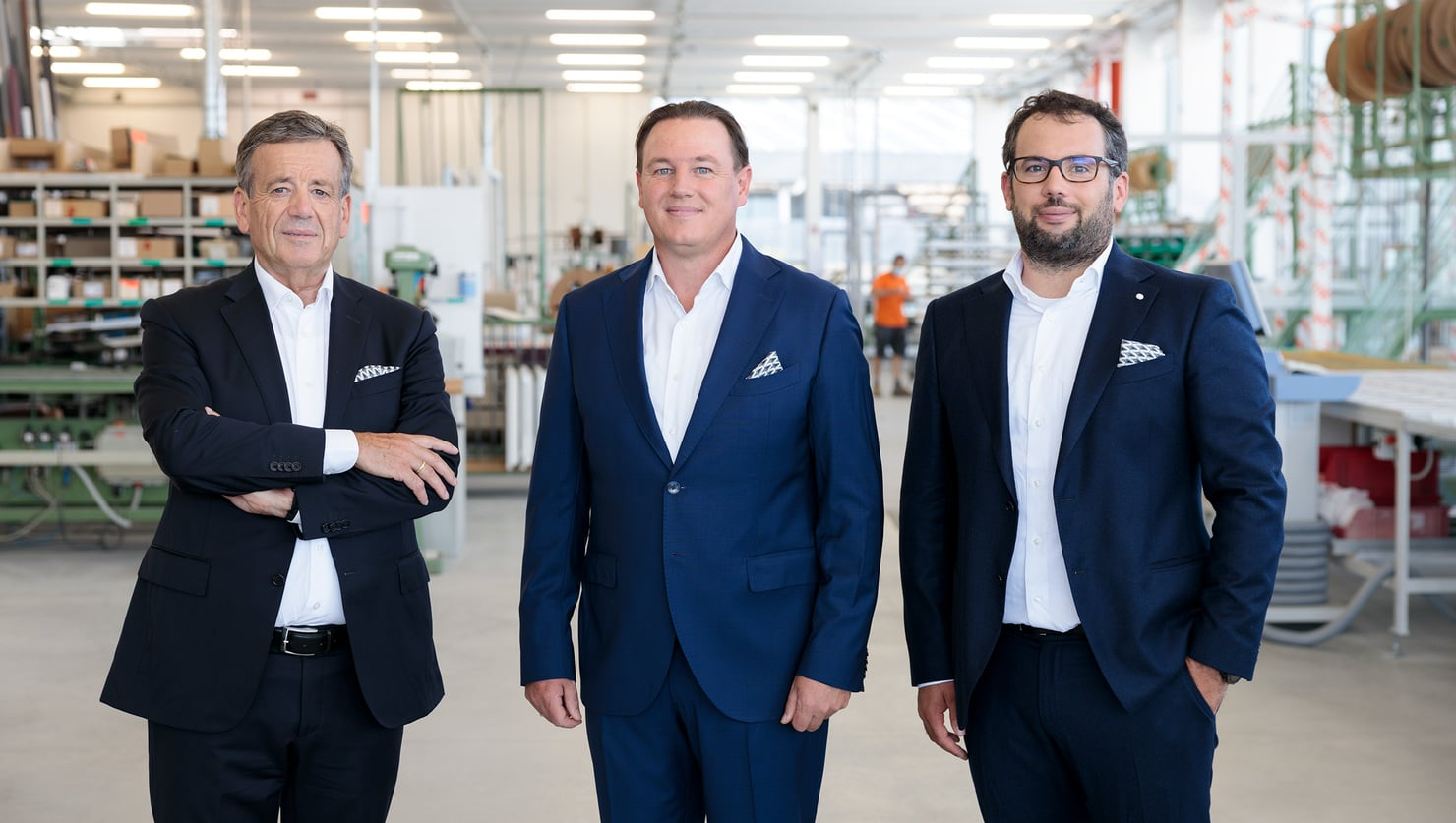 New Board of Directors: Finstral is committed to continuity.