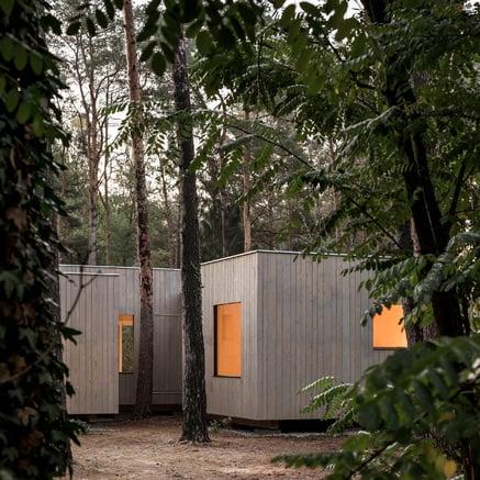 Holzhaus am Köriser See