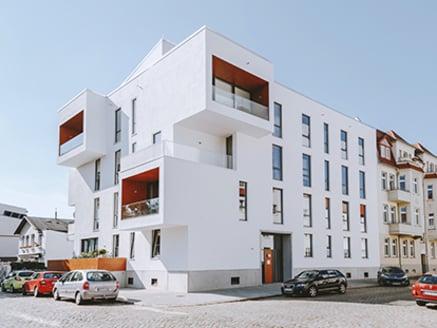 Meergezinshuis in Magdeburg