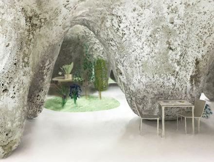 Médiateur entre architecture et nature.