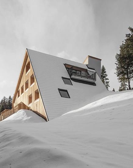Dolomiten im Blick! Die Oberhauser Hütte.