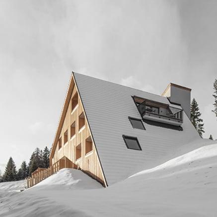 Vue sur les Dolomites ! Depuis le chalet Oberhauser