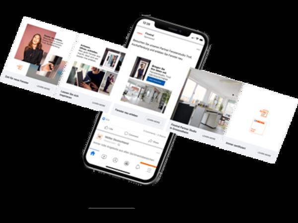 Finstral unterstützt Partner mit Digitalkampagne.