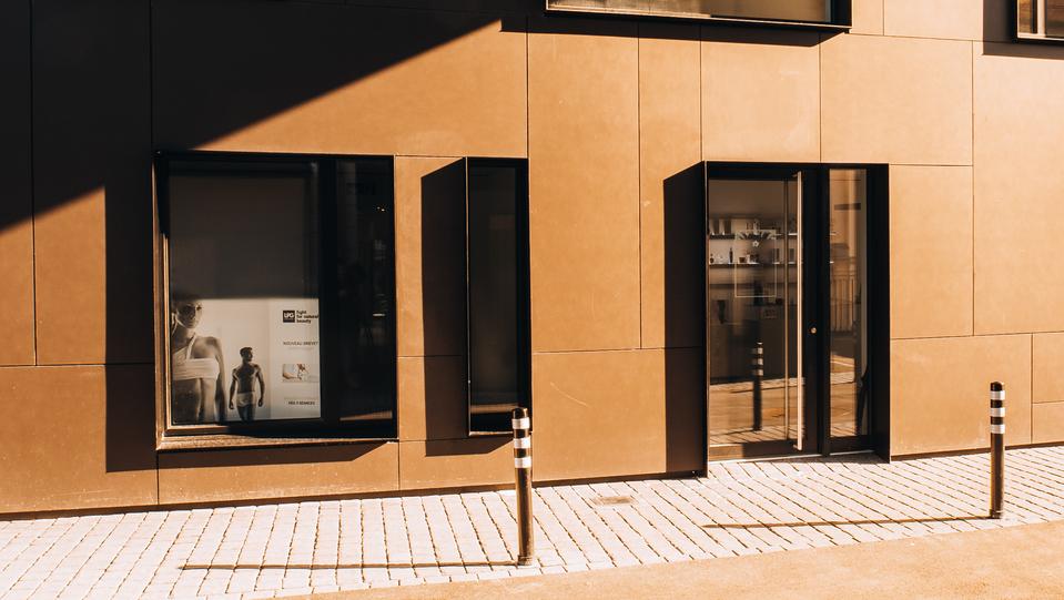 Bankgebäude in Echallens