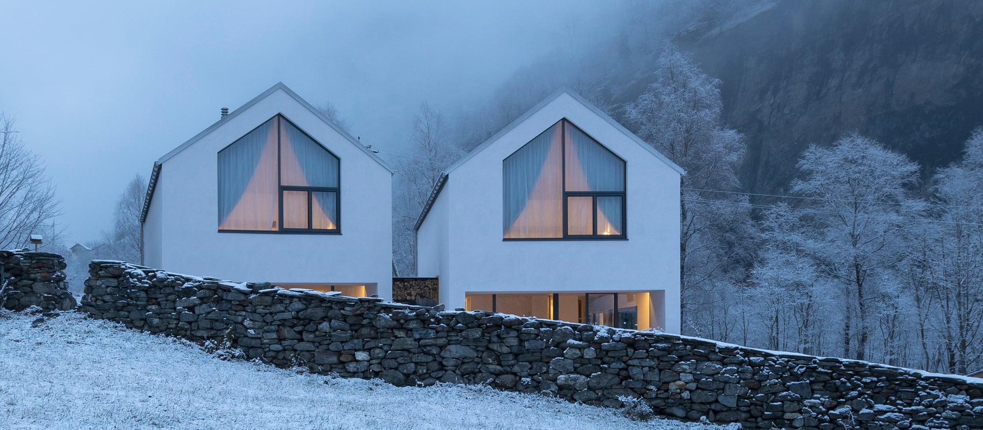 Twee villa's in Cauco