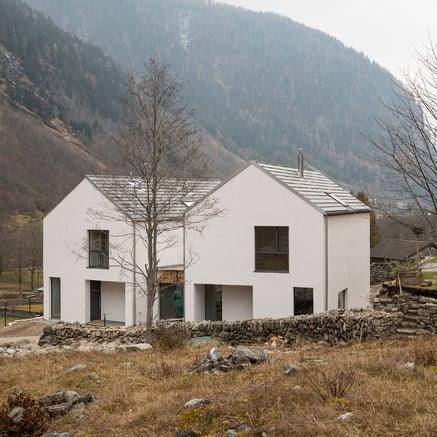 Deux villas à Cauco