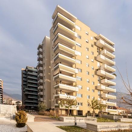 Nuova costruzione a Bolzano