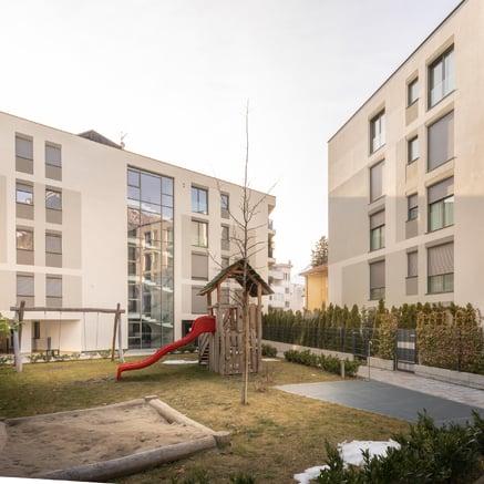 "Apartamentos ""Manzoni Garden"" en Meran"