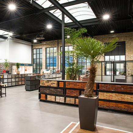 Showroom en Delft