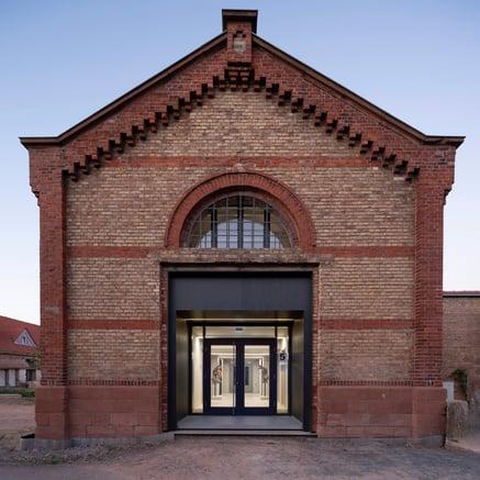 Antigua instalación de equitación en Landau