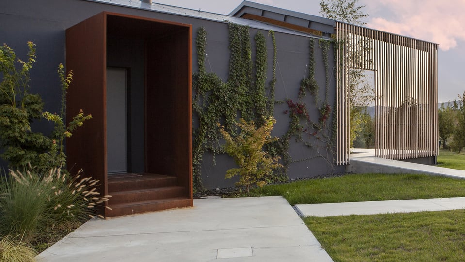 The Shell Passive House in Cesena